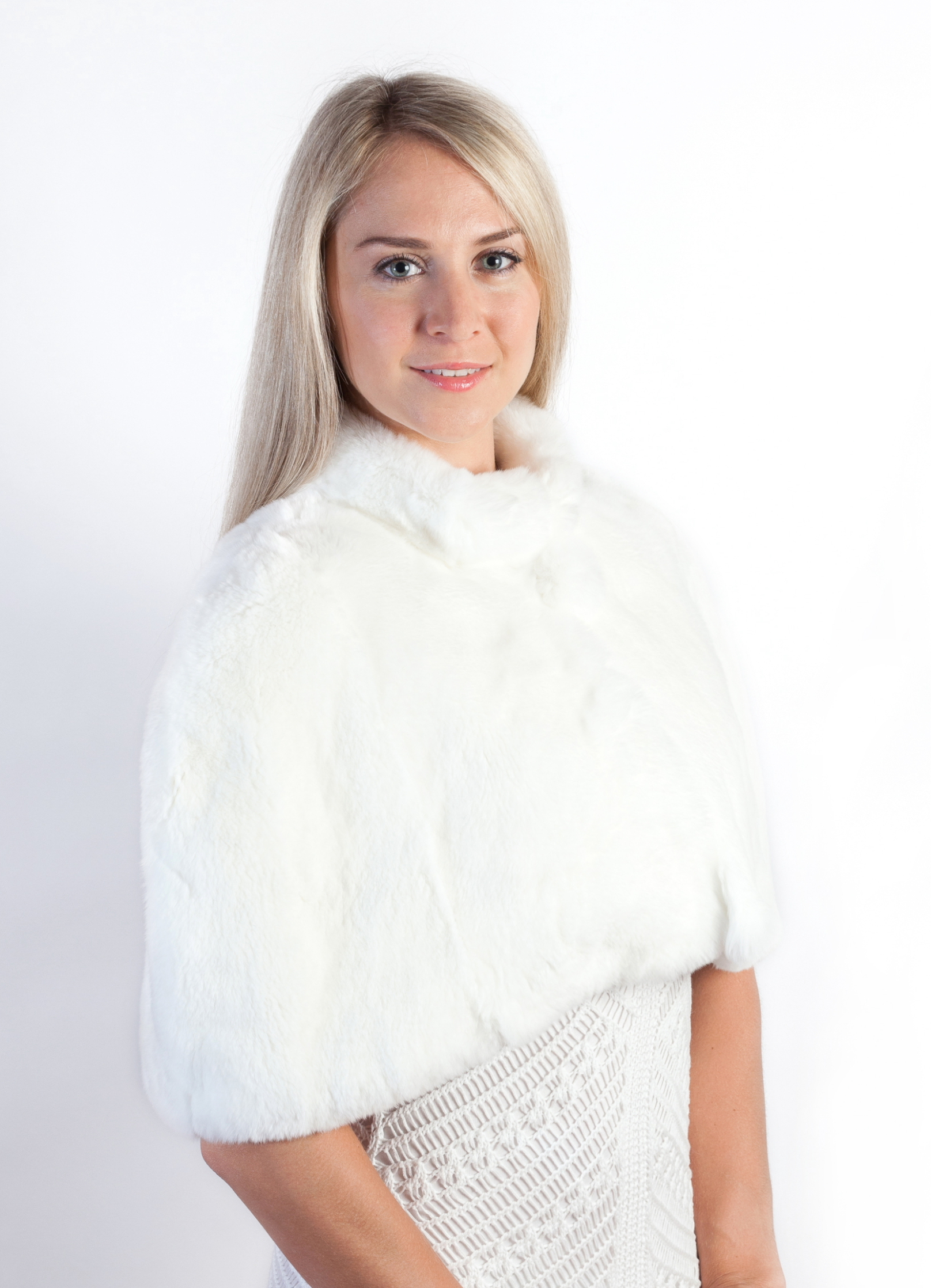 Rex Rabbit Fur Stole
