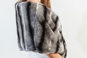 How to stay warm and stylish with real fur shawl