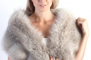 Take care of your bridal fur stole or wedding fur accessory