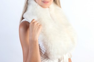 Wear stylish real fur accessories this winter