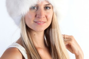 Fur Headband or Neck Warmer for a Winter Wedding