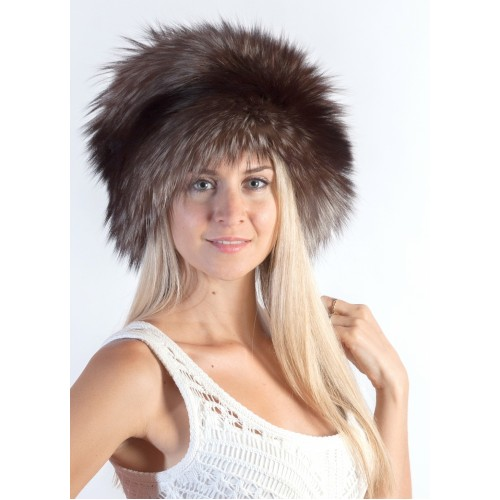 Luxury Silver Fox Fur Hat  f4c4af8b95b